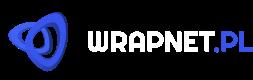 wrapnet.pl - logo white